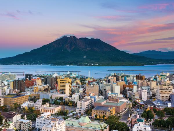 Nature Kagoshima Sakurajima Island Volcano Luxury Travel Japan Regency Group