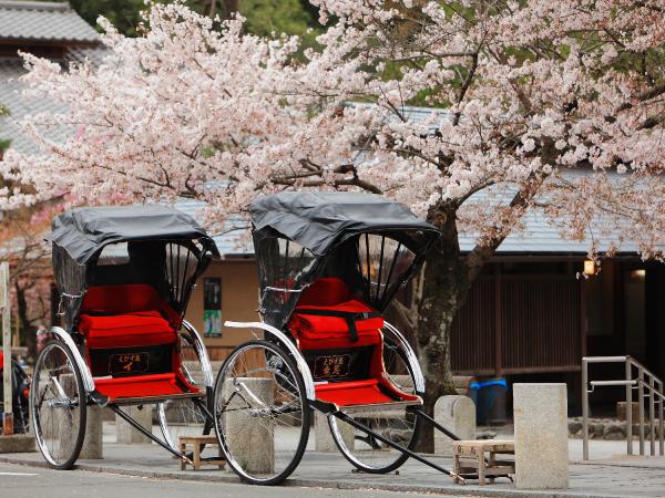 Family Japanese Rickshaw Luxury Travel Japan Regency Group