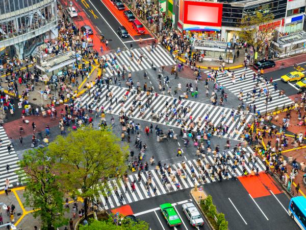 Modernity Shibuya Crossing Tokyo Luxury Travel Japan Regency Group
