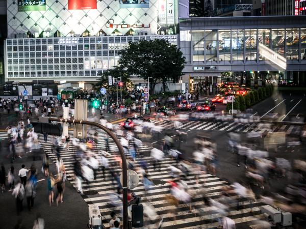 Tokyo Shibuya Crossing Shopping Luxury Travel Japan Regency Group