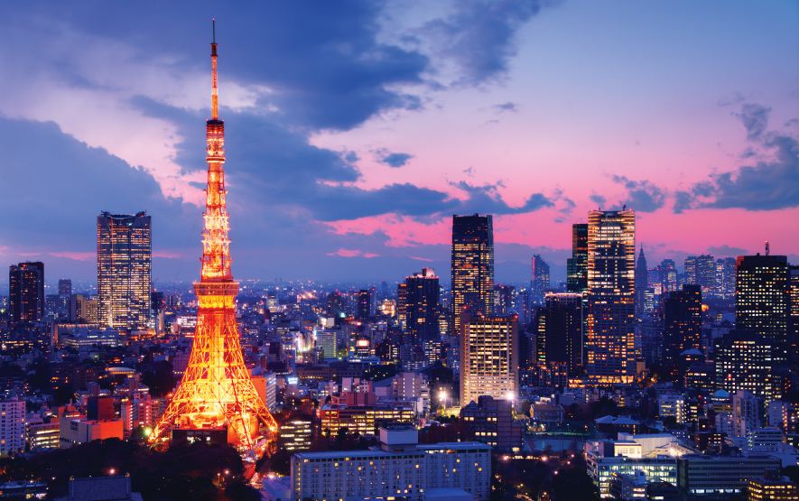 What to do In Tokyo Night Cityscape Luxury Travel Japan Regency Group