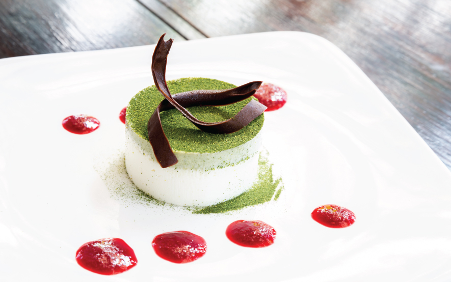 Japanese Desserts Green Tea Cheesecake Luxury Travel to Japan Regency Group