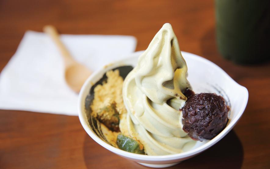 matcha warabi mochi ice cream Luxury Travel to Japan Regency Group