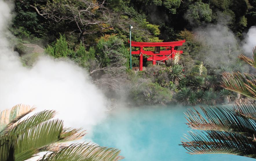 Torri Gate Beppu Onsen In Japan Luxury Travel to Japan Regency Group