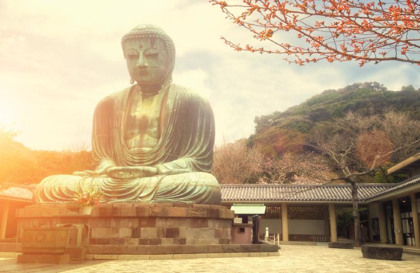 Kamakura Statue Fall Luxury Travel to Japan Regency Group
