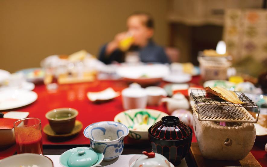 Traditional Meal Japan Luxury Travel Regency Group