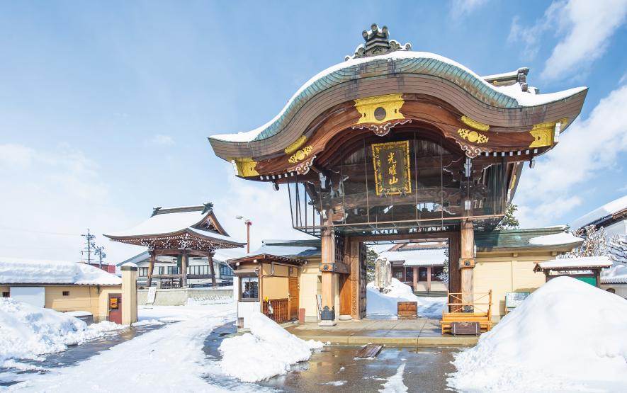Takayama Betsuin Shorenji Temple in Japan