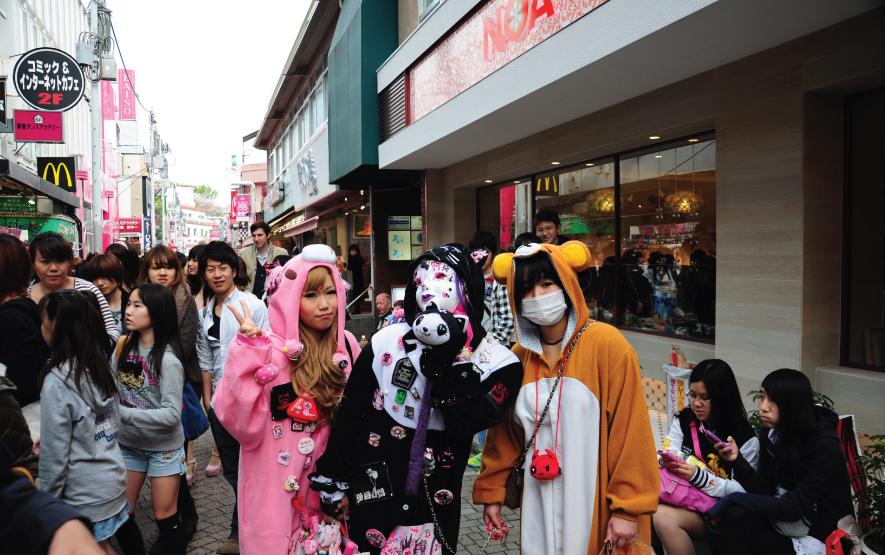 Cosplay Harajuku Luxury Travel Japan Regency Group