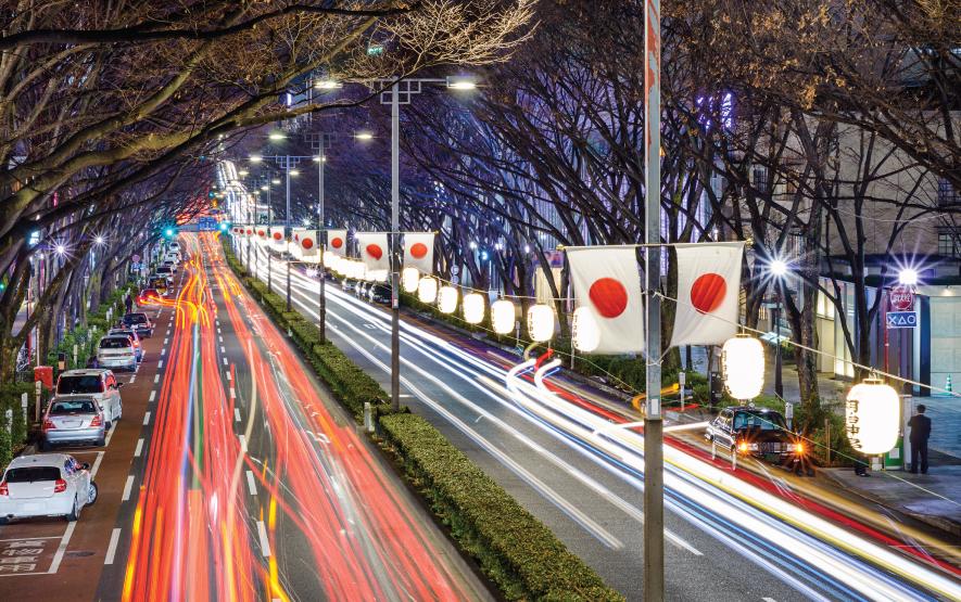 Harajuku traffic Luxury Travel Japan Regency Group