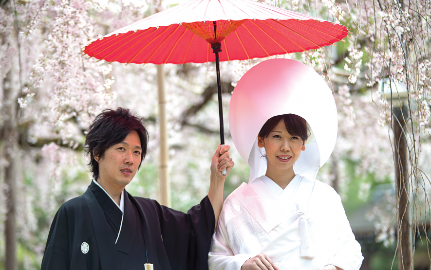 Couple Wedding Ceremony Japan Regency Group