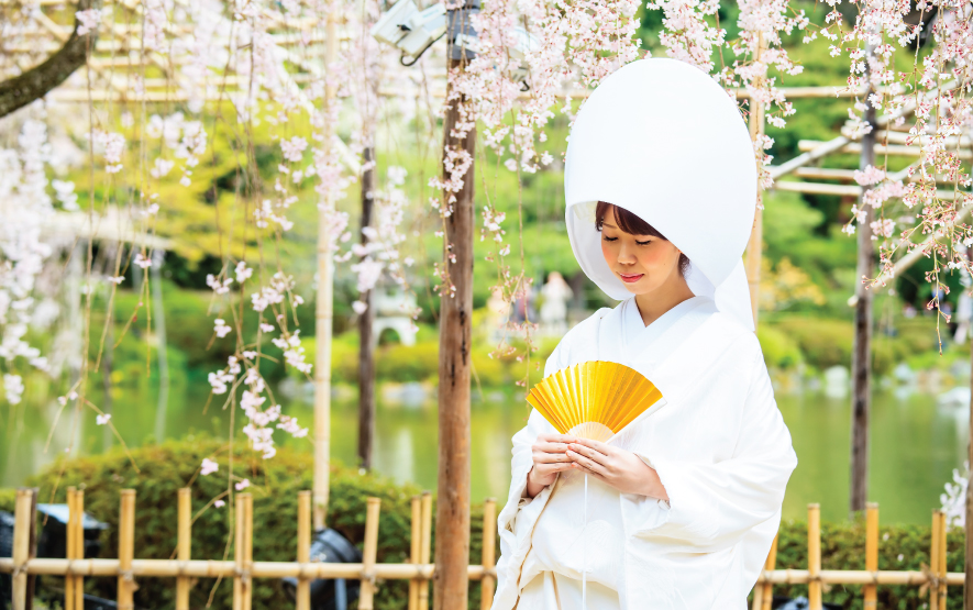 Wedding Ceremony Bride Japan Regency Group