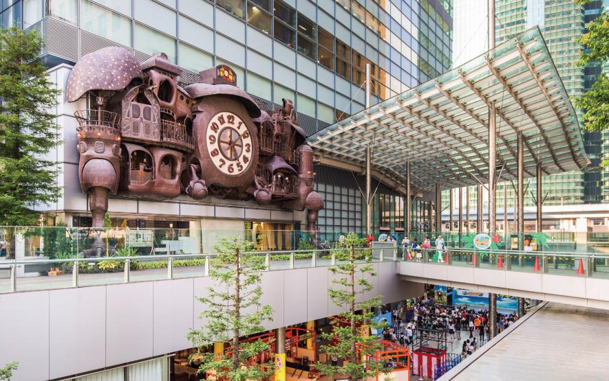 Clock Ghibli Tokyo family travel Japan Regency Group