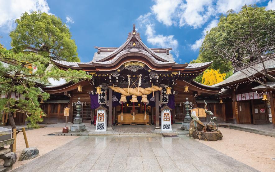 Fukuoka Giant Buddha temple Travel Japan Regency Group