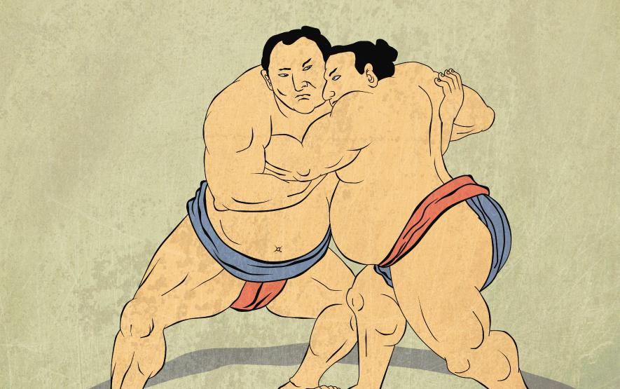 sumo drawing sumo travel japan regency group