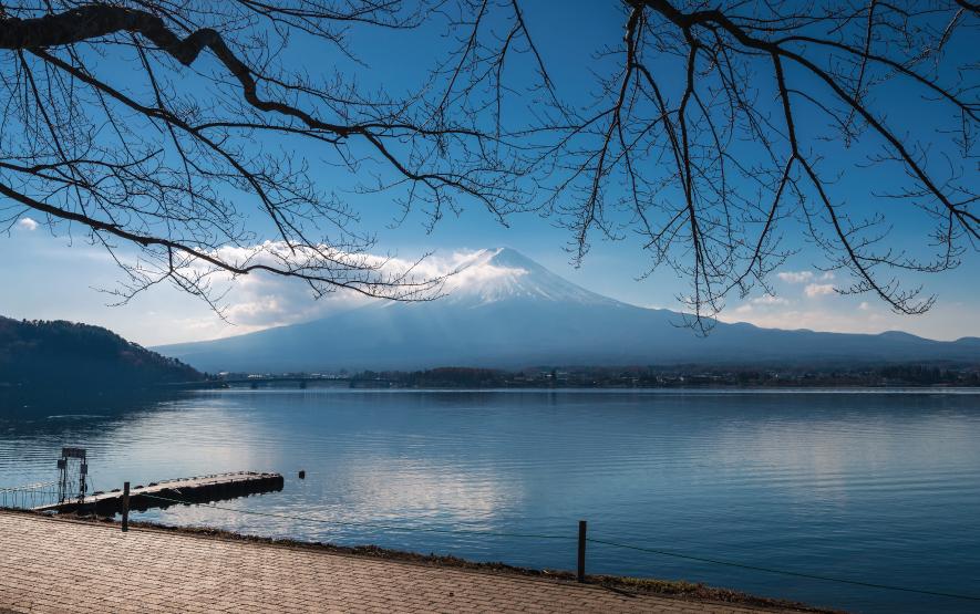 lake kawaguchi travel Japan Regency Group
