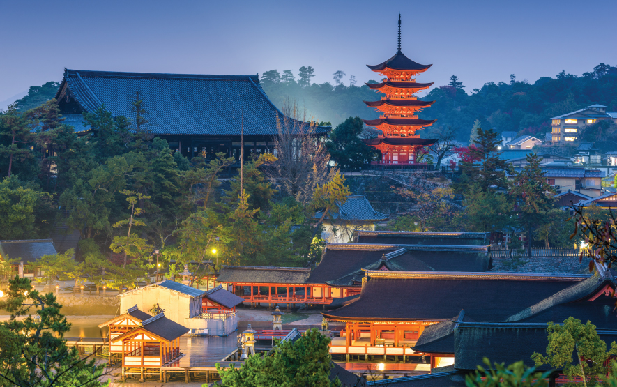Miyajima Pagoda Travel Japan Regency Group