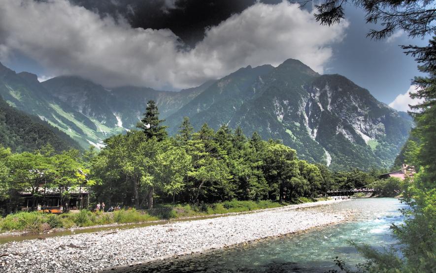 Azusa River Hotake Mountain Travel Japan Regency Group