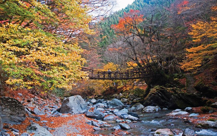 Kazurabashi Bridge Luxury Travel Japan Regency Group