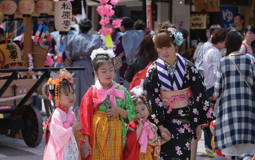 Yayoi Festival Travel Japan Regency Group