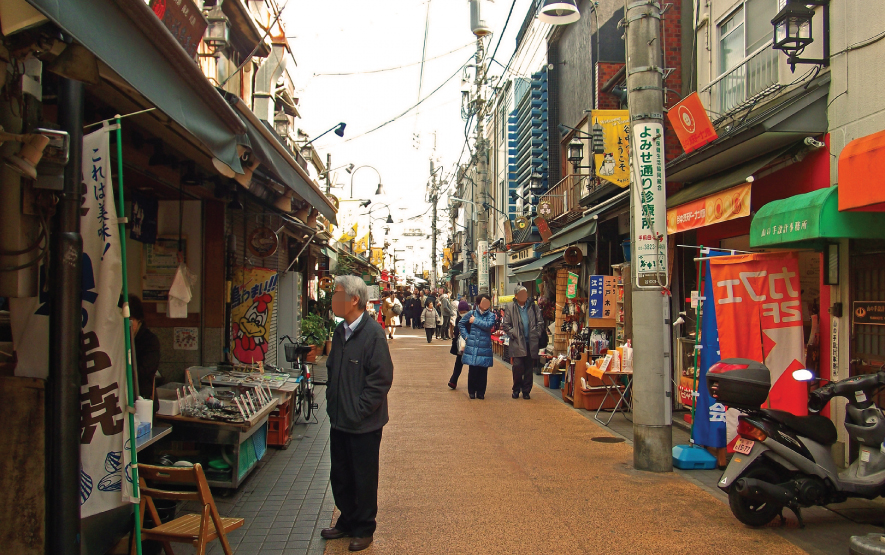 Yanaka Shopping Street Travel Japan Regency Group