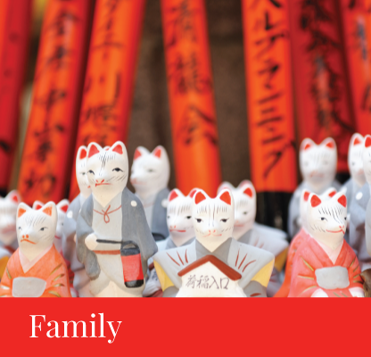itinerary family japan regency group